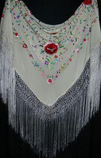 Manton, Mantones, Spanish Embroidered Shawls | Scarves ...