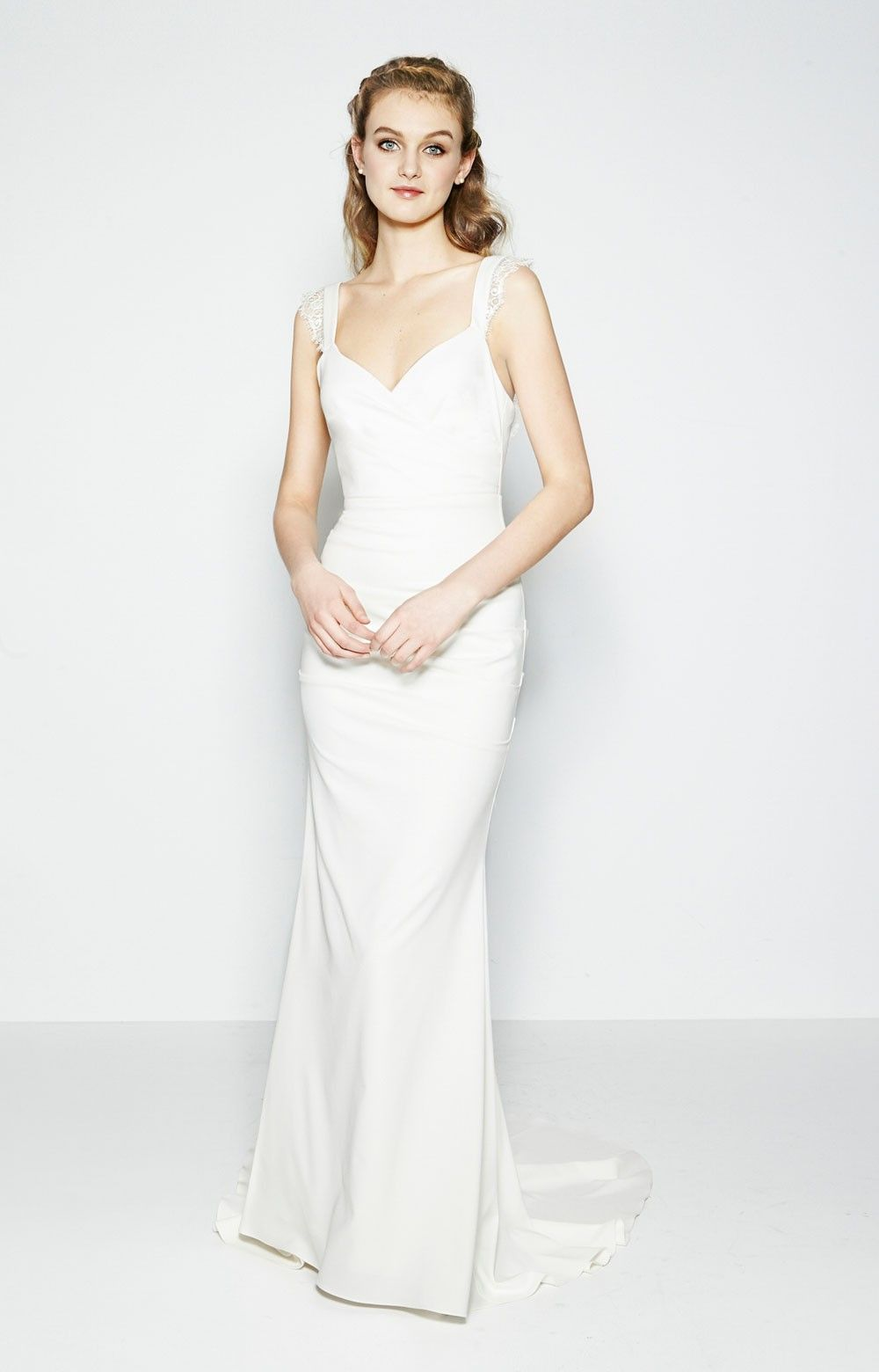 nicole miller wedding dresses Alexis Bridal Gown Nicole Miller Spring Bridal Collection