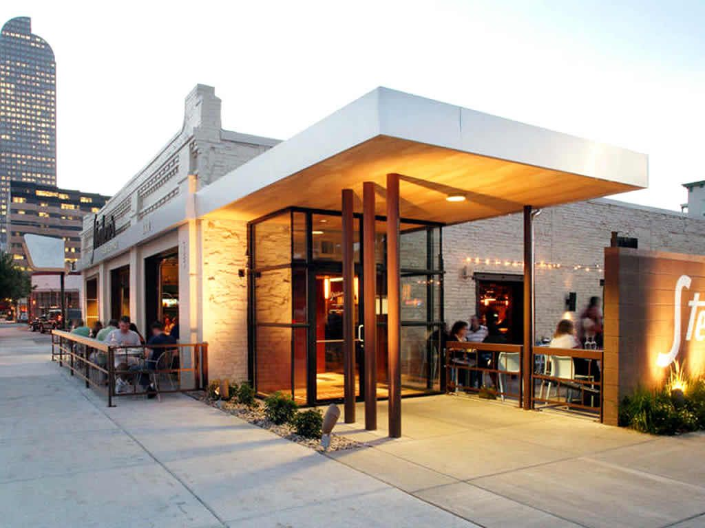 Exterior design of bars exterior design of steubens restaurant denver united states design