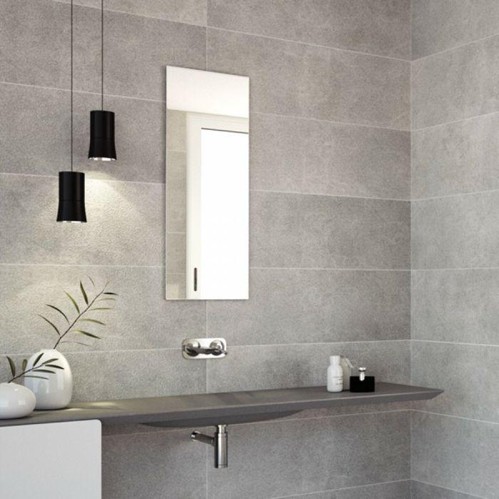 Grau Und Betonoptik Im Bad   Modern Und Zeitlos Badgestaltung   Badezimmer  Modern Beige Grau