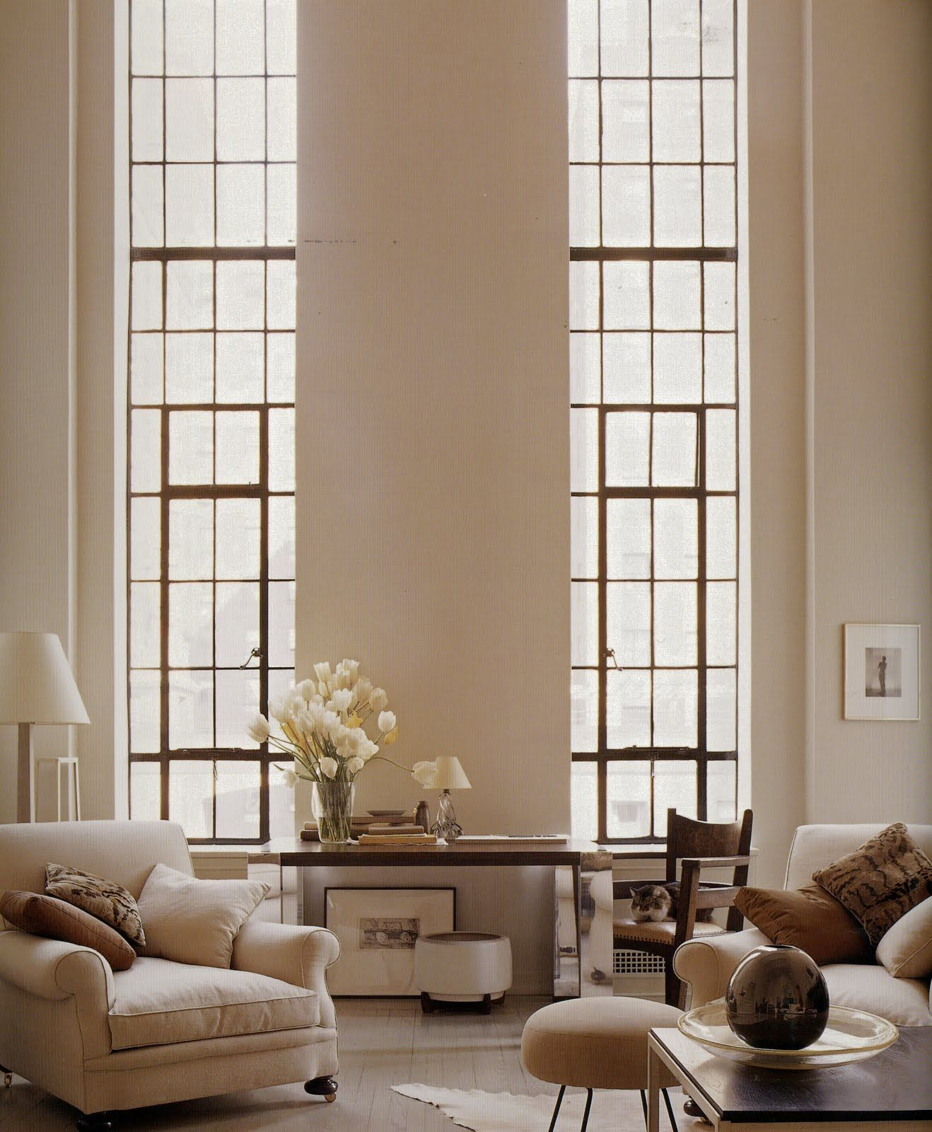 Decoraciones Hogar Beautiful Tall Windows Makes The Room So Light