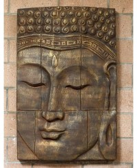 Buddha Wall Panel | Large Buddha Panel | Buddha Wall Decor ...