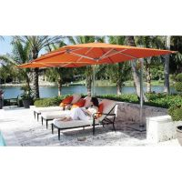 Outdoor & Garden, Best Orange Patio Cantilever Umbrella ...