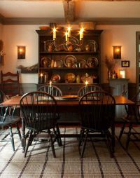 From Early American Country Interiors by Tim Tanner ...