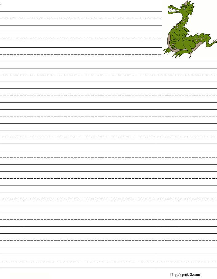 Handwriting Paper To Print , free printable writing paper - printing on lined paper