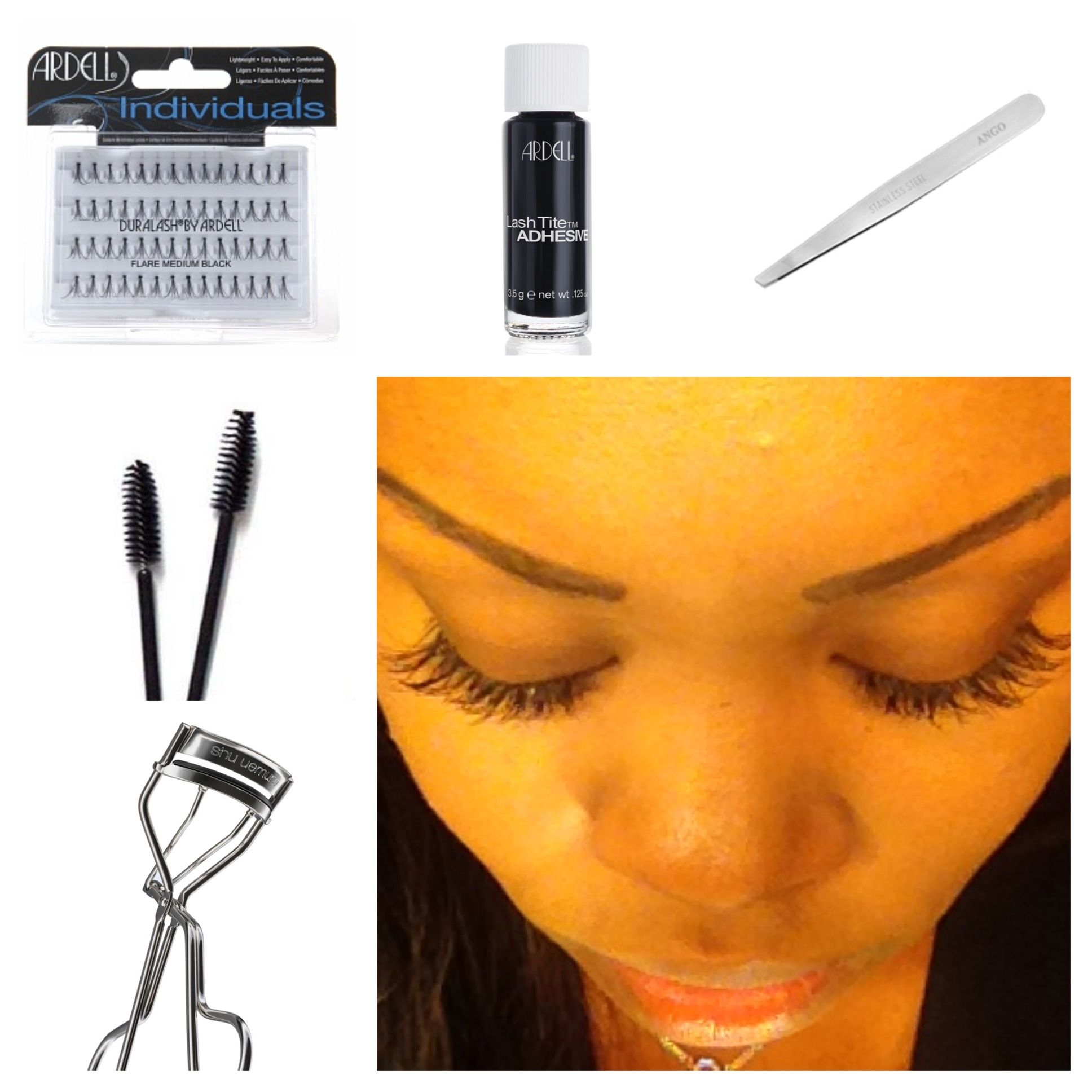 Diy Eyelash Extensions Diy Lash Extensions You 39ll Need 1 2 Packs Of Ardell