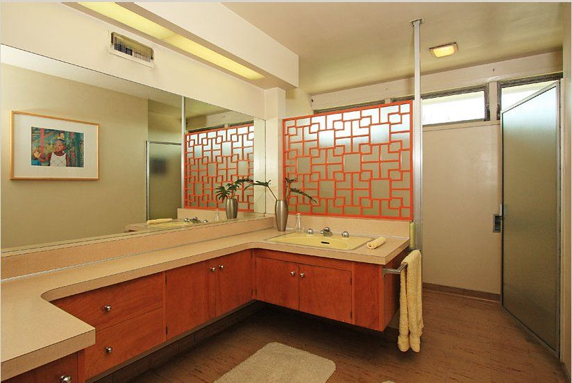 1000+ Images About Bathrooms Original Mid Century Modern On