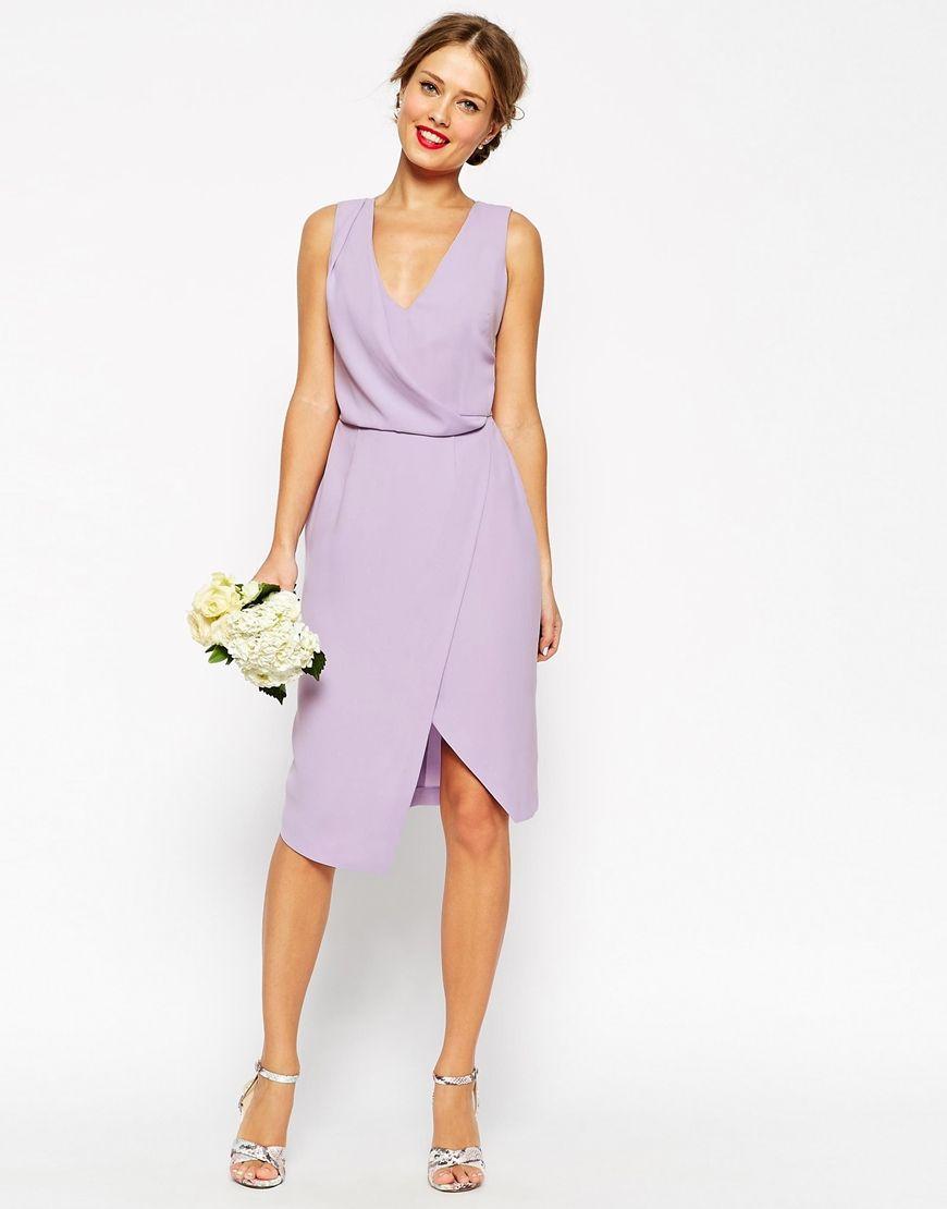 wedding guest dresses Lavender wedding guest dress