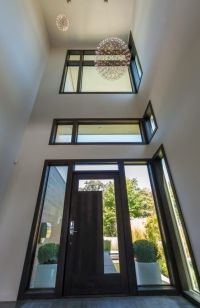 modern glass front doors design