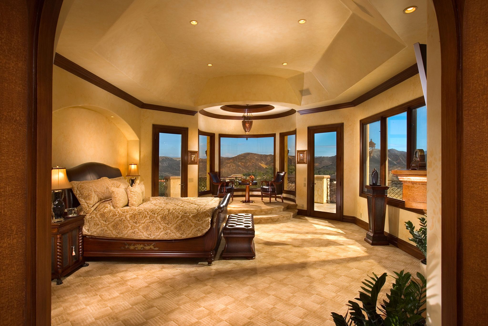 Master Bedroom Theme Big Master Bedroom Design