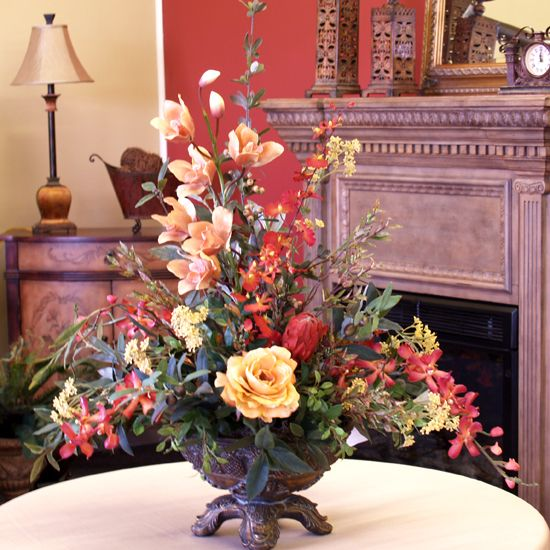Online shopping for Artificial Mixed Floral Arrangements from a - silk arrangements for home decor