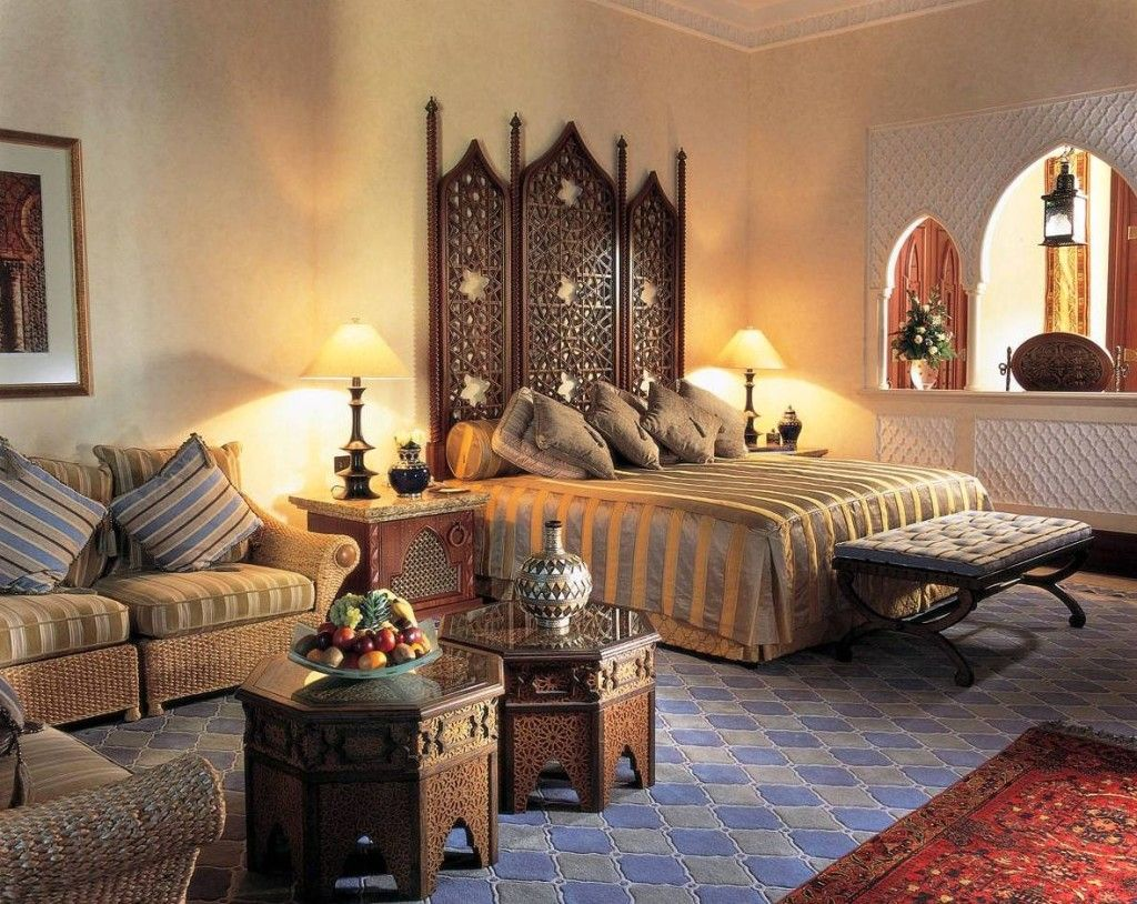 India a vibrant culture a rajasthan inspired bedroom with ornate jaali or latticework detailing