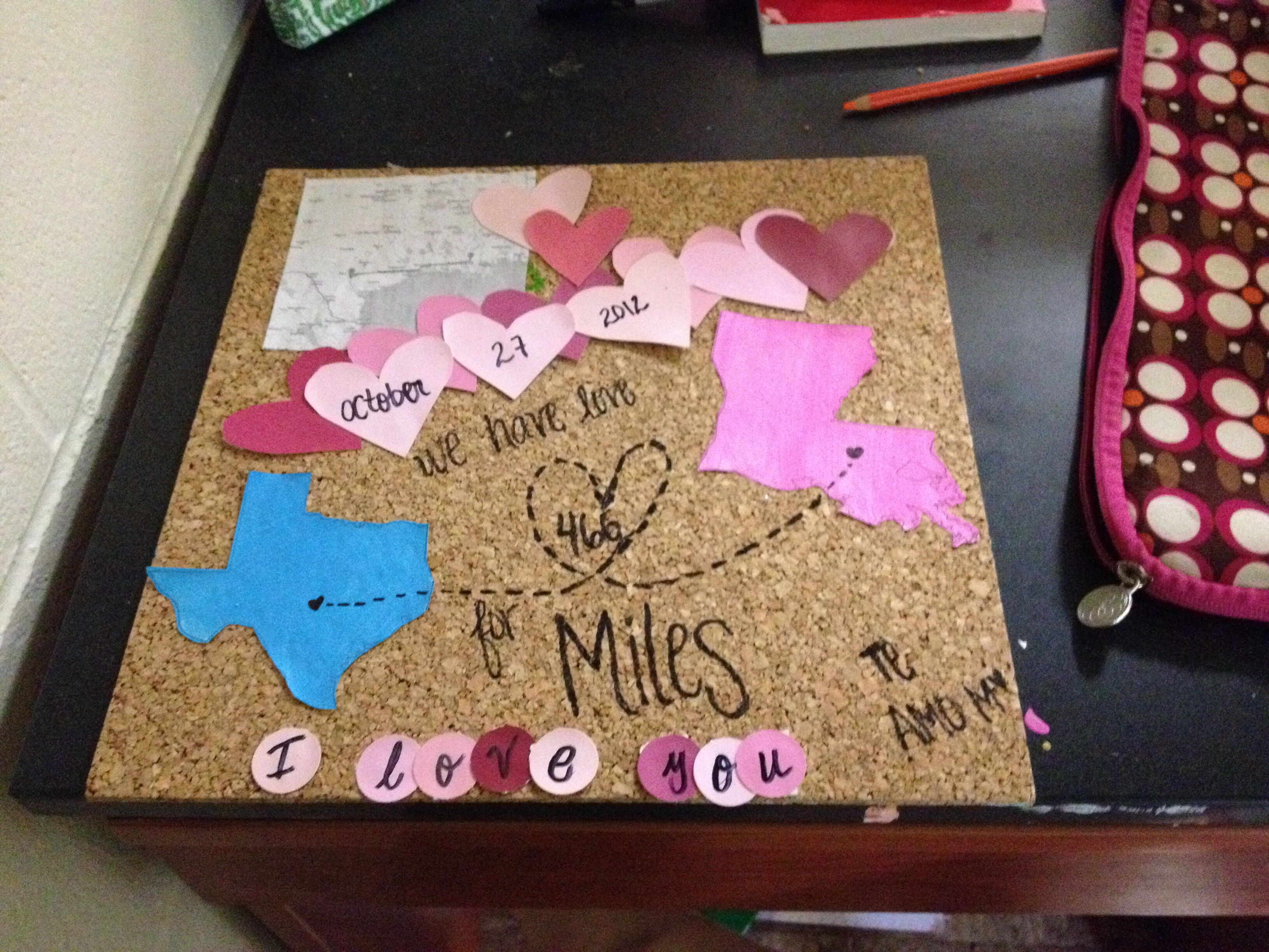 Anniversary gift for my boyfriend long distance relationship