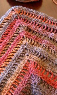 The Lydia Shawl: free quick & easy crochet pattern & chart ...