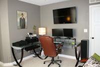 Best Office Paint Colors   office his storm by valspar ...