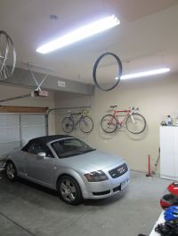 8 Foot Fluorescent Light Fixture   Get an instant-on with ...