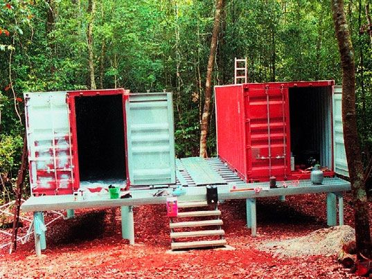 10+ Images About Homes Out Of Storage Containers On Pinterest