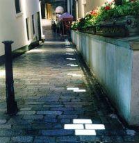 In-ground paver lights, london light design, street ...