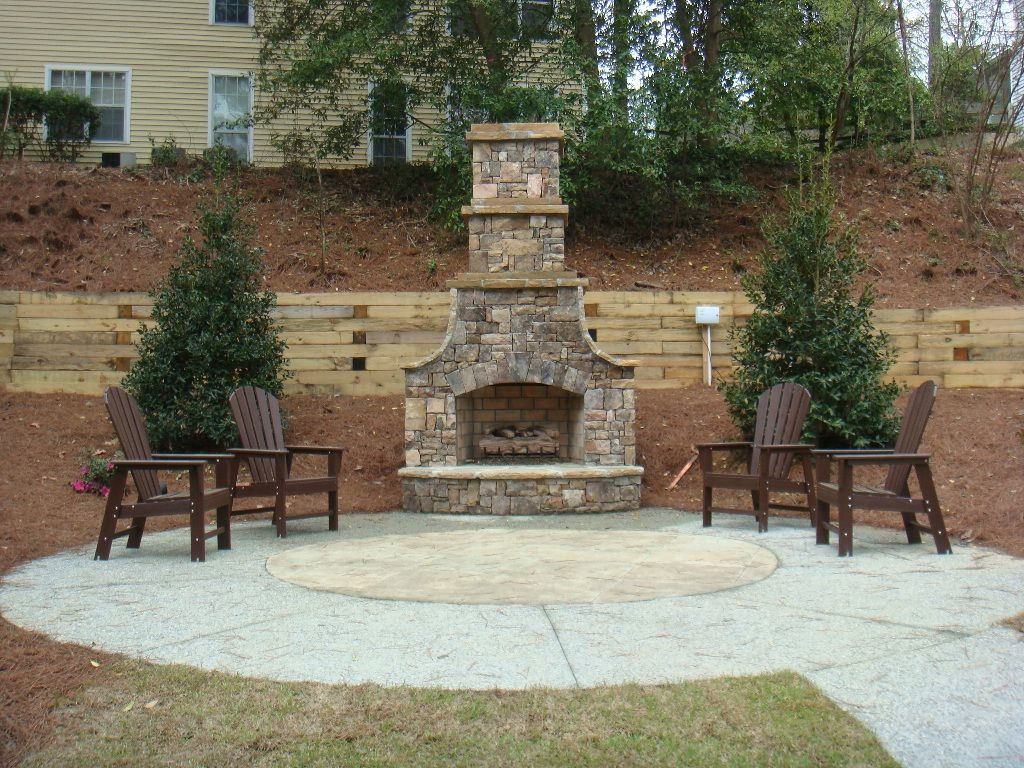 Fireplace And Patio Outdoor Fireplaces Apartments Offers Exquisite