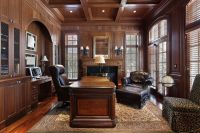 350 Home Office Ideas for 2018 (Pictures)   Wood paneling ...