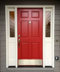 Red Front Door. Sherwin Williams, Antique Red. | Home ...