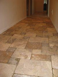 Tumbled Stone Tile bathroom | Tumbled Travertine Tile Fro ...