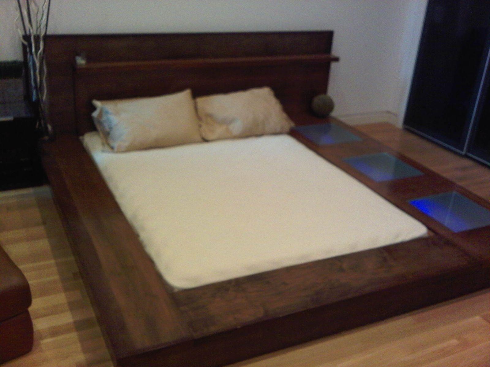 Custom made platform bed