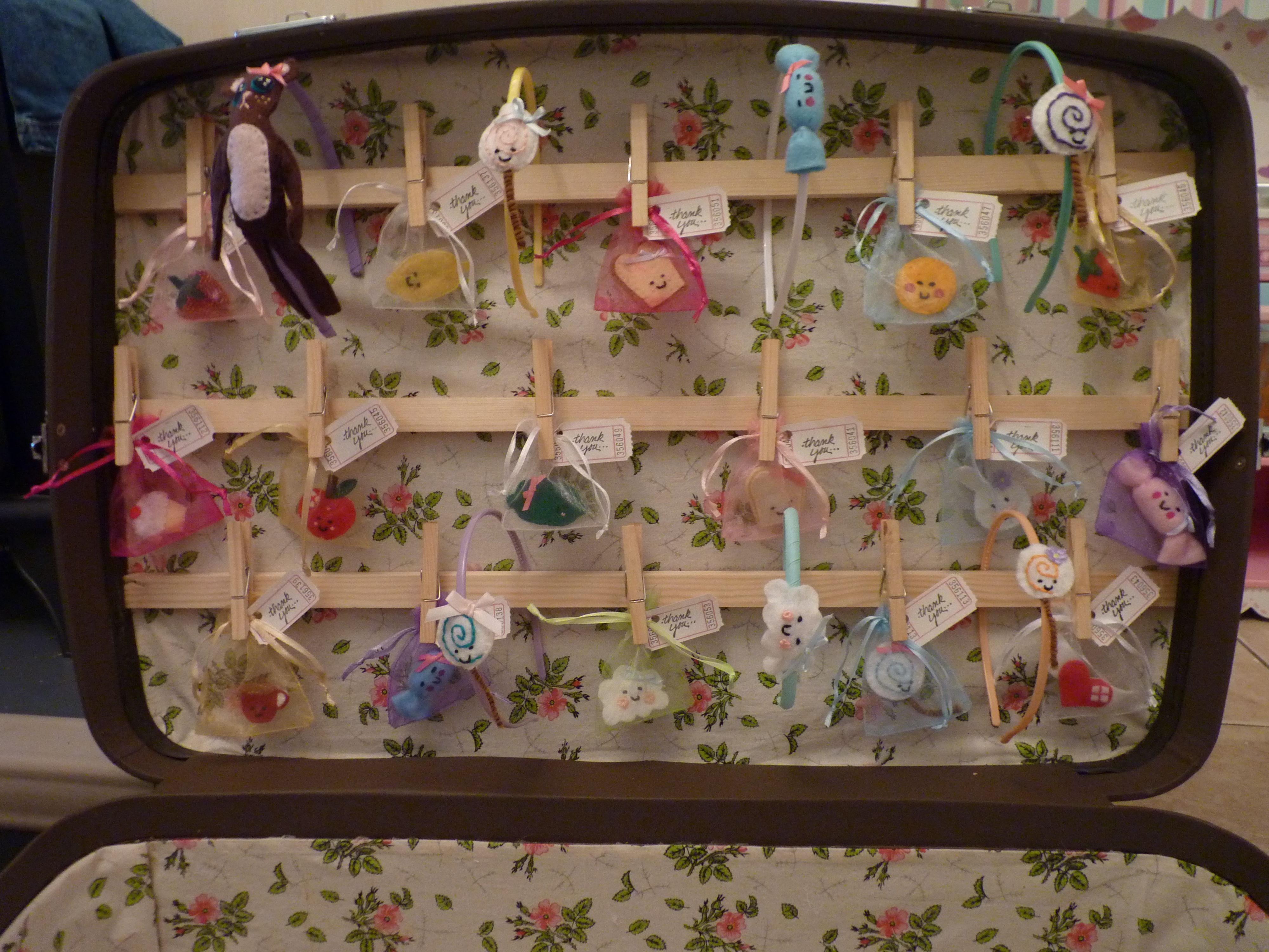 Vintage Suitcase Shelves For Sale I Needed A Display Cabinet For Craft Fairs So I