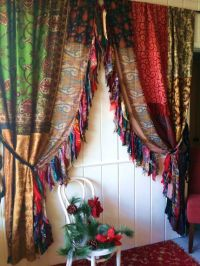 boho Gypsy christmas Curtains Drapes Hippie Luxe by ...