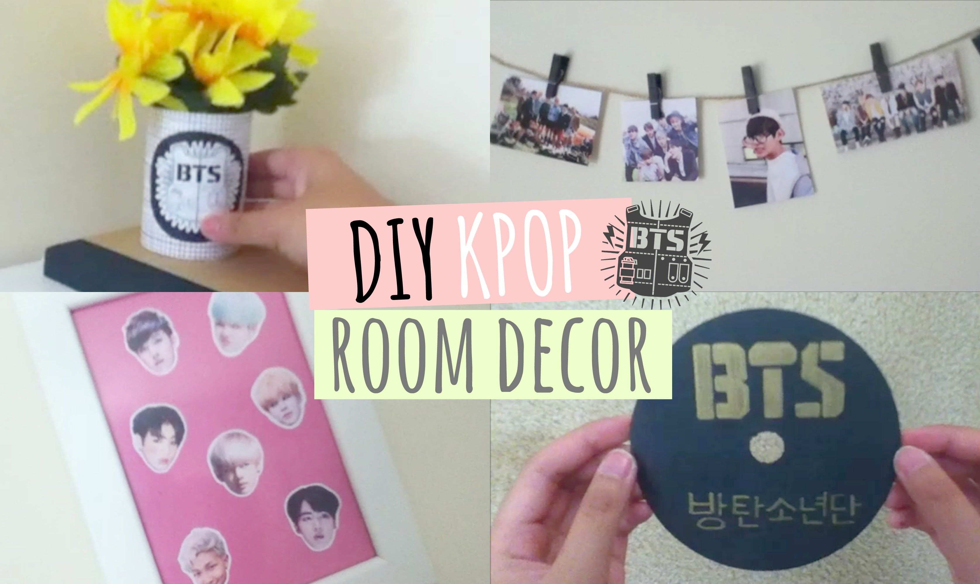 Stuff For Room Decor Diy Kpop Room Decor Room Ideas Pinterest Room
