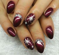 Nail Design Fullcover Winter Christmas   nails   Pinterest ...