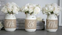 Rustic Wedding Table Decor,Rustic Bridal & Engagement Gift ...