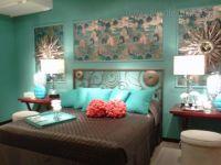 black turquoise bedroom ideas