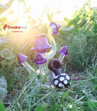 Mushroom Bubbler and Pipe. Cheap glass bongs and pipes ...