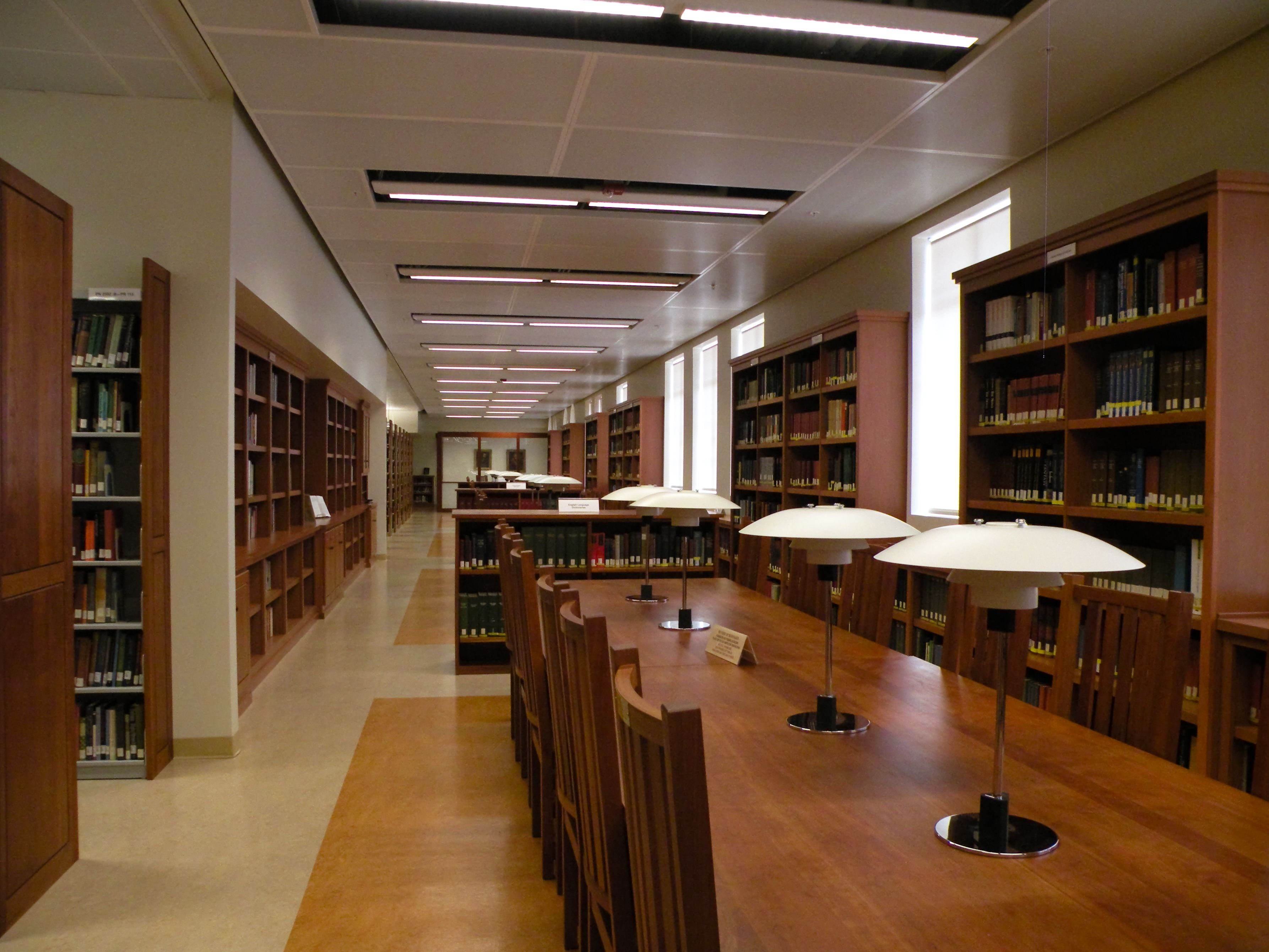 Reading Room Design Ucla Campus Map English Reading Room Library Renovation