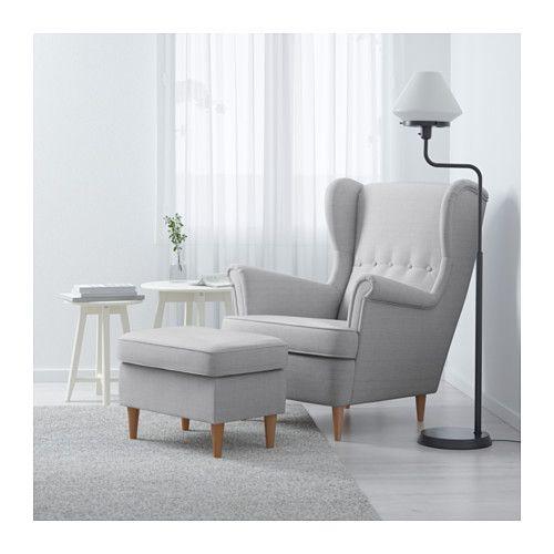 Ikea Sessel Strandmon Gelb