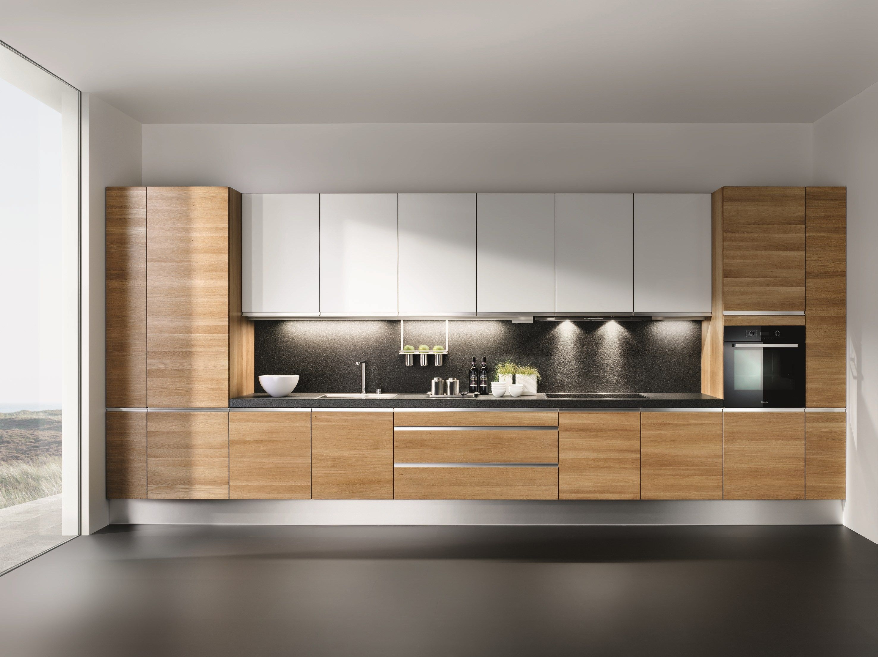 Küchen Design Karl Russ Wooden Fitted Kitchen Linee Linee Collection By Team 7