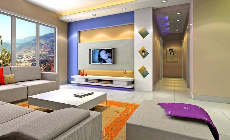 Lcd Wall Unit Design For Living Room - Living Room Designs - Al - wall units for living rooms