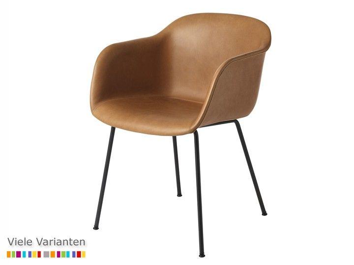 FIBER CHAIR Tube Base Stuhl Esszimmer Büro Muuto u2026 Wohnen - designer stuhl esszimmer