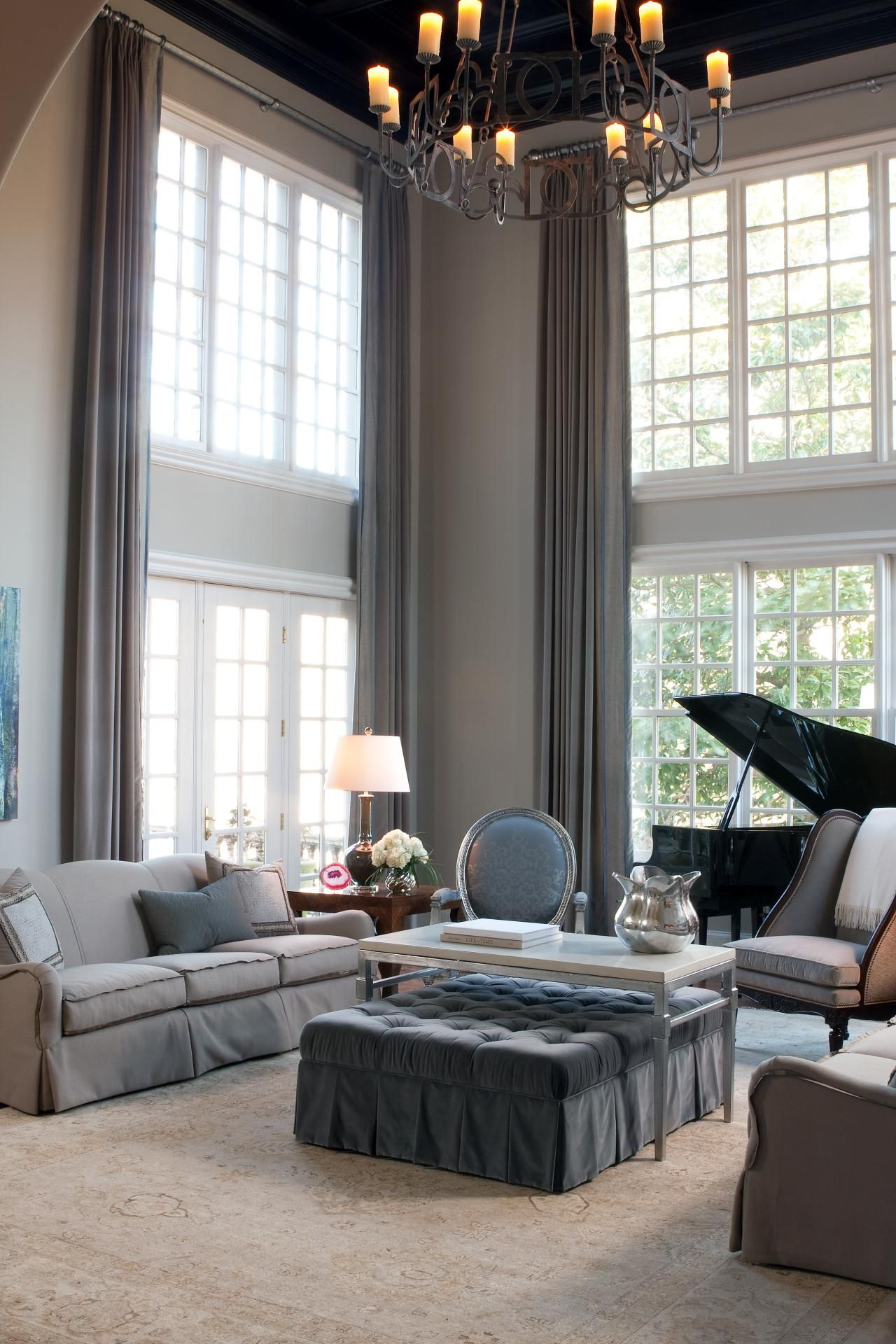 Fantastic and unique window treatments for living room b01