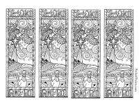 free printable dragon bookmarks to color - Google Search ...