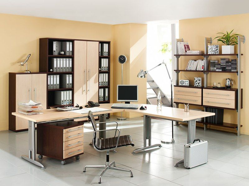 Captivating 40+ Best Home Office Layout Decorating Design Of 25 - home office setup ideas