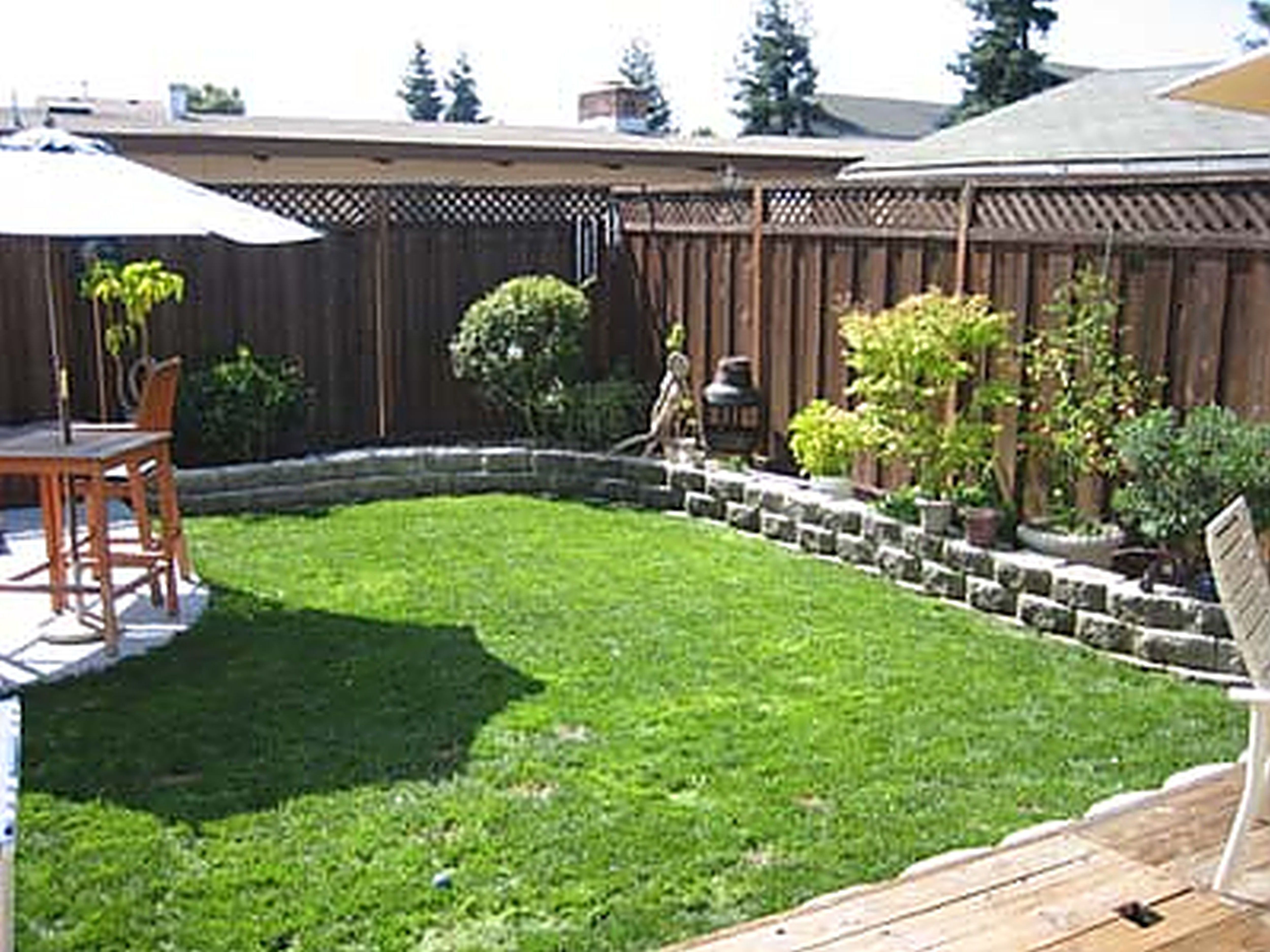Yard Landscaping Ideas On A Budget Small Backyard
