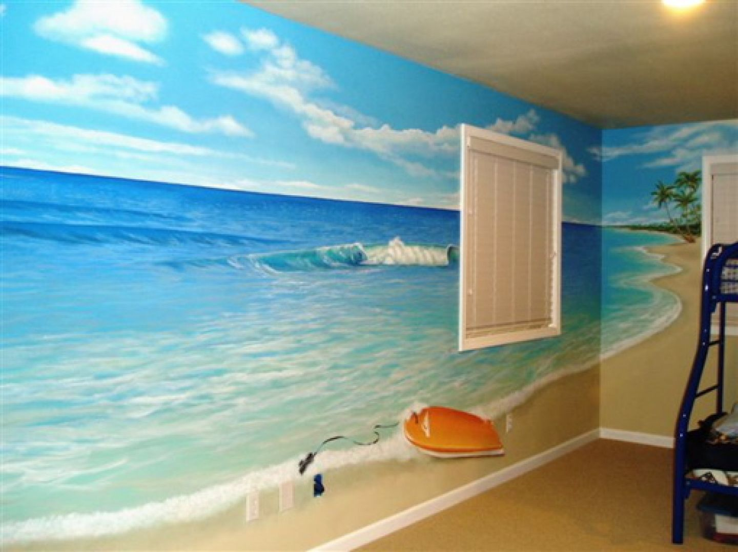 Kids Ocean Bathroom Decor Beach Mural Ideas To Paint On Divider Wall Tags Beach