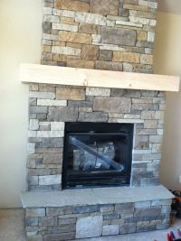 Drystack Fireplace - Monarch Custom Homes www.nimasonry ...
