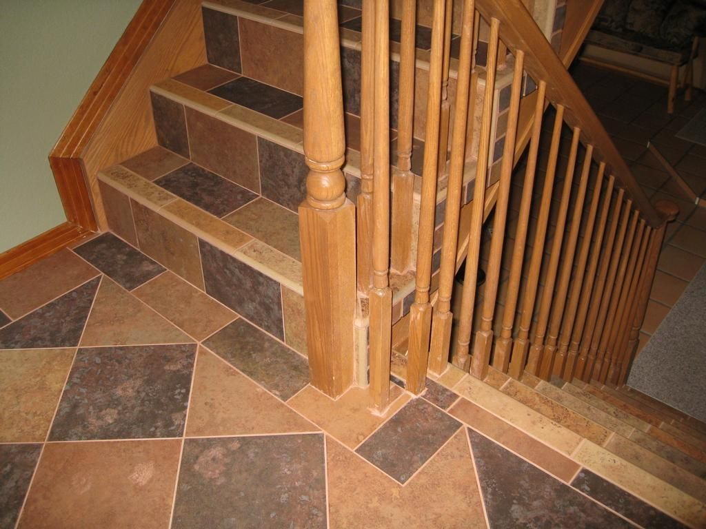 Flooring Ideas For Stairs Tiled Stairs Tile Stairs And Landing Jpg By Tile By Pfiel