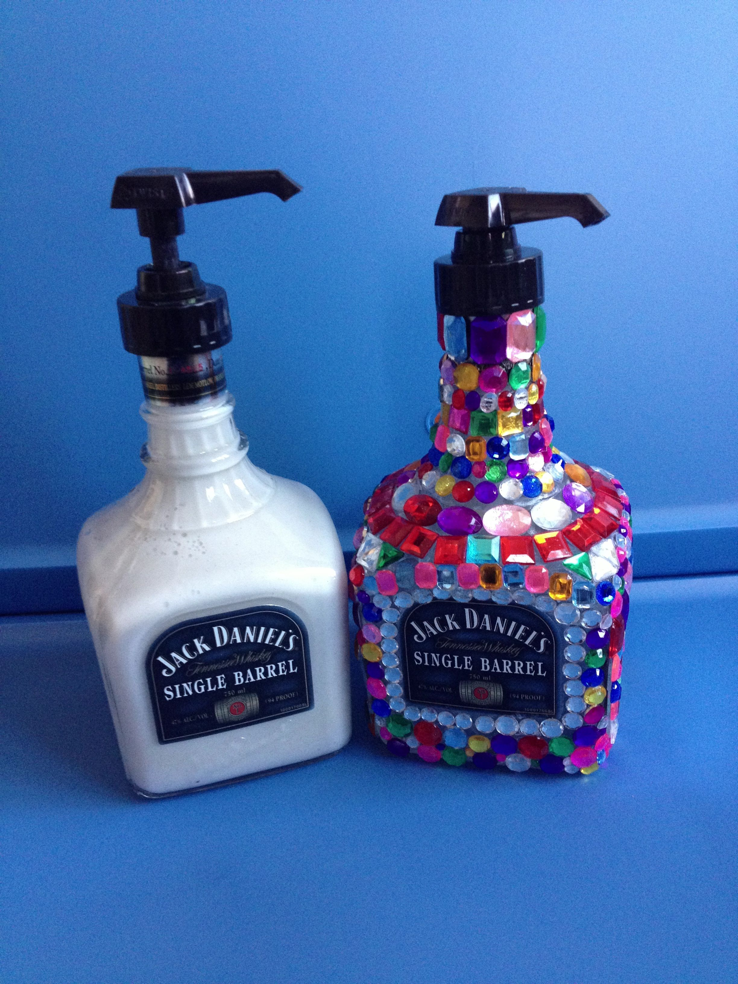 Hand Soap Bottle Holder Diy Alcohol Bottle Into A Soap Dispenser Stuffff