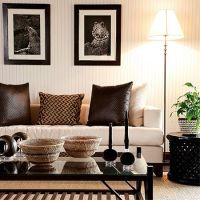 modern contemporary african theme interior decor design ...