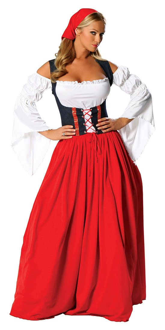 Dirndl Dress Nyc Guten Tag Swiss Miss Adult Costume German And