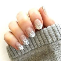 The New Way to Wear Nail Art in 2017   Silver dip, Winter ...